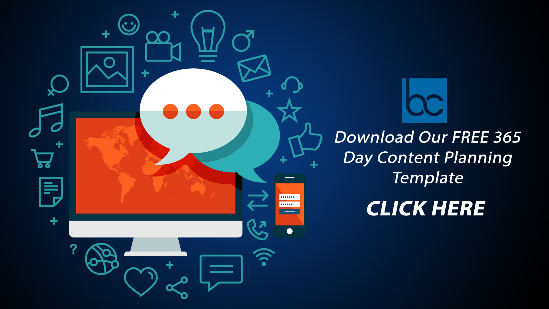 Download Our FREE 365 Day Content Planning Template
